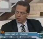 Entrevista  sobre Má digestão, Intestino Preso Data: 28/06/2012 - SBT
