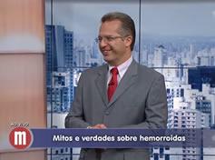 Entrevista: TV Gazeta - Saúde: Hemorroidas, fissuras e abcessos