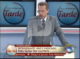 Entrevista  sobre Problemas gastrointestinais Data: 27/9/2012 - Record - Programa Hoje em dia