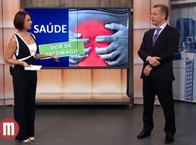 Entrevista  Entrevista: TV Gazeta - Saúde: Dores no estômago