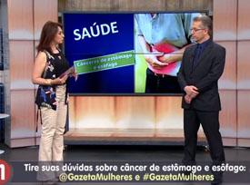 Entrevista: Dr. Nelson Liboni à TV Gazeta - Saúde:  Câncer de estômago e esôfago