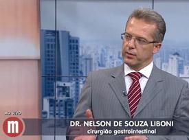 Entrevista: Dr. Nelson Liboni à TV Gazeta - Saúde: diverticulite