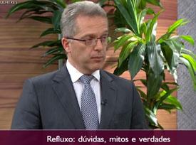 Entrevista: Dr. Nelson Liboni à TV Gazeta - Saúde  Refluxo  Descubra as causas e tratamentos