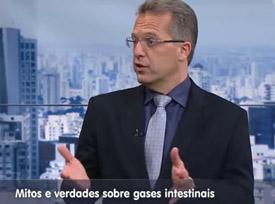 Entrevista: Dr. Nelson Liboni à TV Gazeta - Saúde:  Mitos e verdades sobre gases intestinais